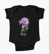 Rainbow Punk: Psychedelic Purple Kids Clothes