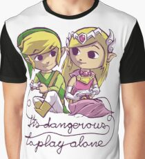It's dangerous to play alone Graphic T-Shirt