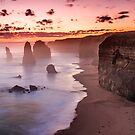 Twelve Apostles at Sunset 1 by bluetaipan