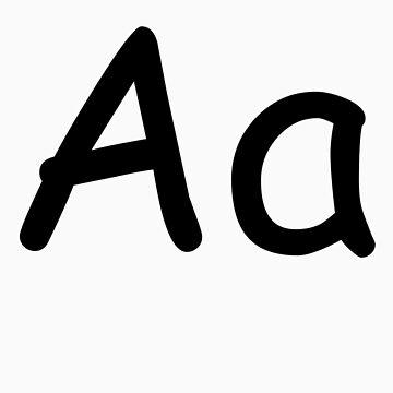 Aa - Comic Sans MS by jamieharrington