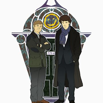 Sherlock Nouveau by KatArtDesigns