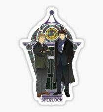 Sherlock Nouveau Sticker