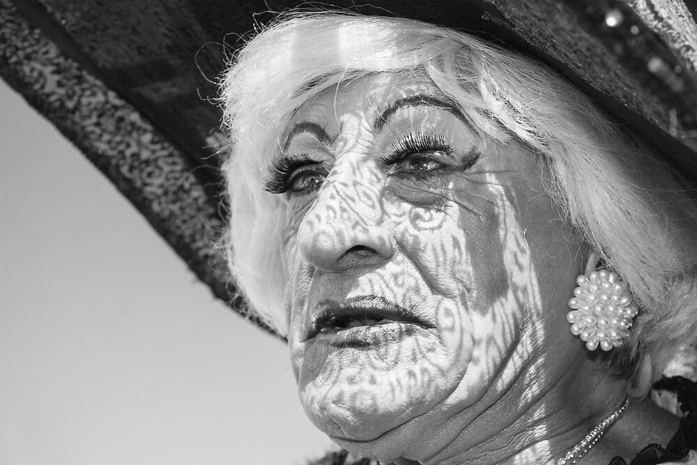 Brighton Pride - Lace Face by Heather Buckley