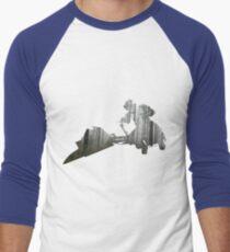Star Wars Scout Trooper on Speeder Bike on Endor Men's Baseball ¾ T-Shirt