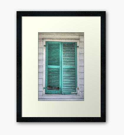 Closed for now... Framed Print