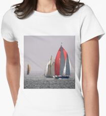Classic sailing Womens Fitted T-Shirt
