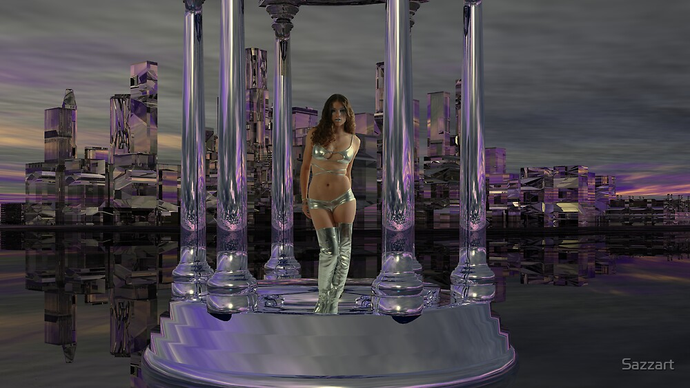 Wanted - Alien Abductress for Seduction by Sazzart