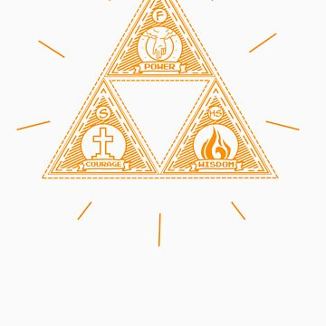The Trinity - Christian Zelda Shirt by pixelpatch
