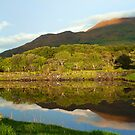 Reflections on Loch Etive by Bel Menpes