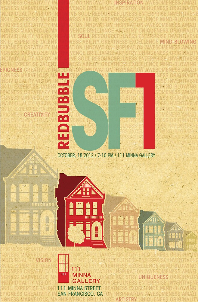 RedBubble SF1 Poster Contest Entry by JenSnow