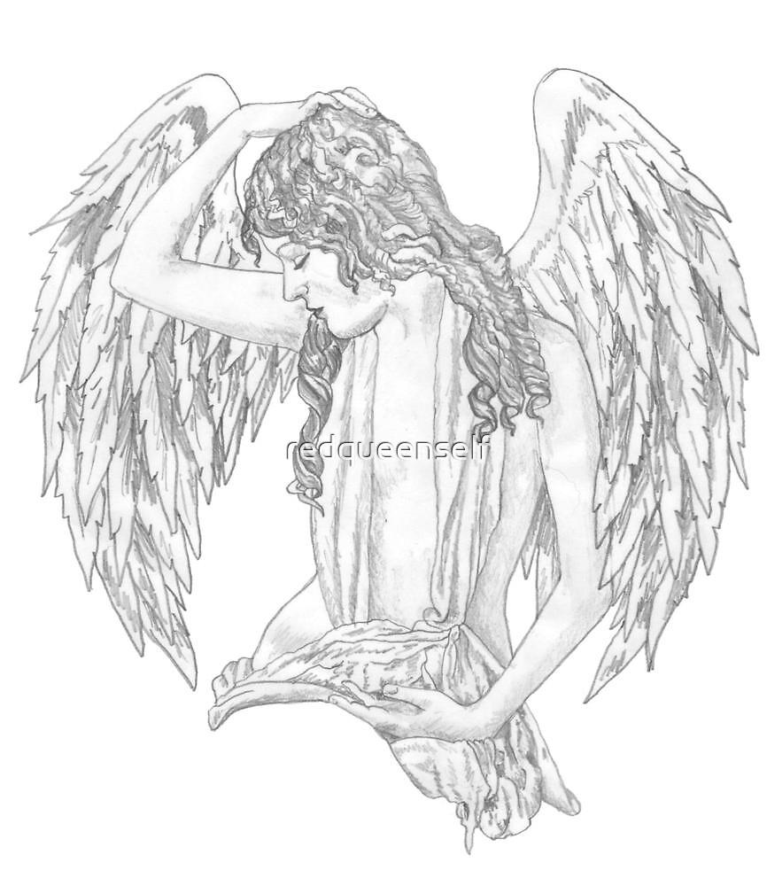 Angel by redqueenself
