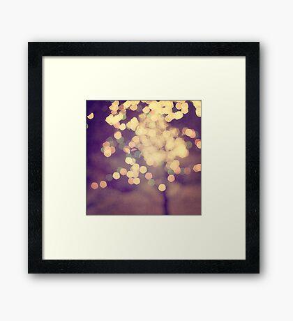 Festive Framed Print