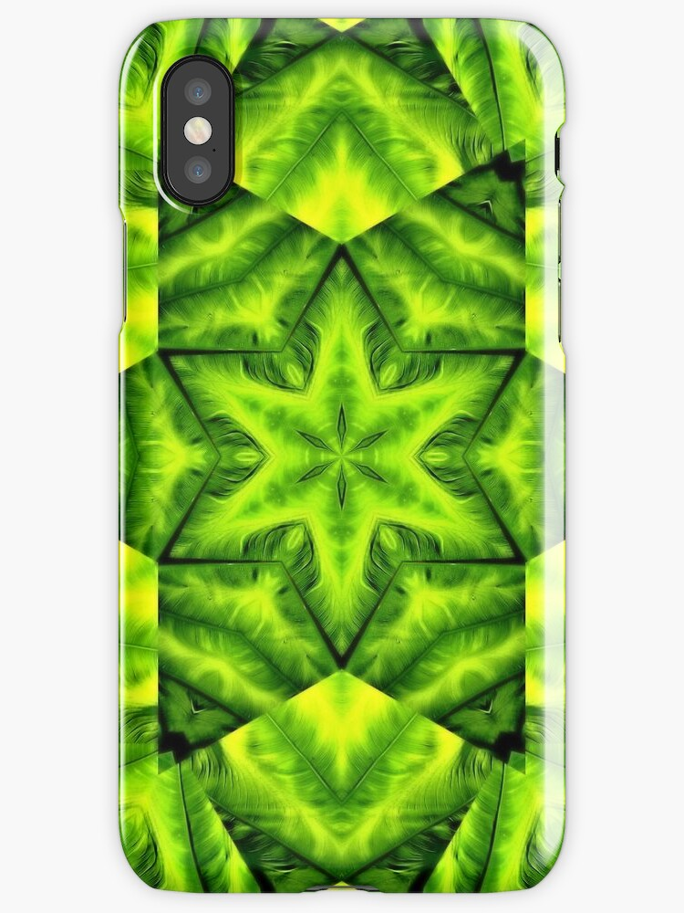 Green Star [iPhone - iPod Case/Skin] by aprilann