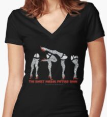 Rocky Horror Picture Show {Legs} Women's Fitted V-Neck T-Shirt