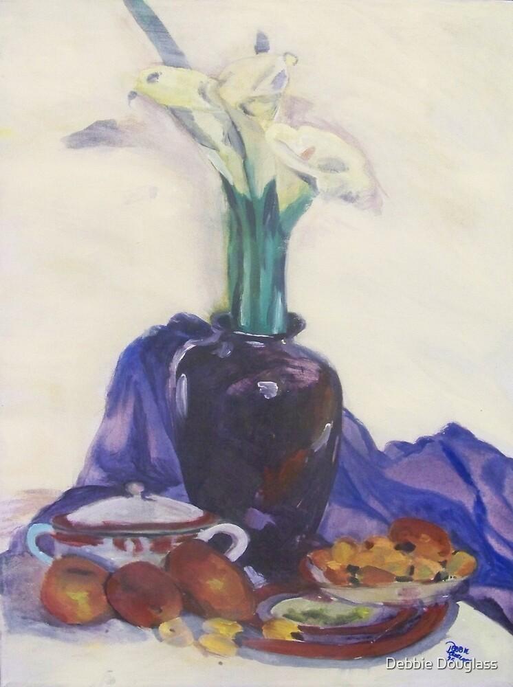 Calla Lilies, 1975 by Debbie Douglass