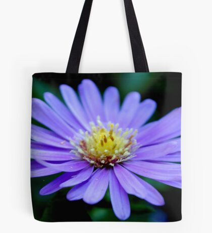 IN BLUE - THE MICHAELMAS DAISY - Aster novi-belgii Tote Bag