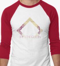 She's The Queen Men's Baseball ¾ T-Shirt