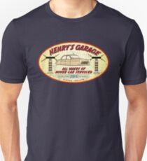 Henry's Garage (Aged) Unisex T-Shirt