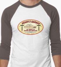 Henry's Garage (Original) Men's Baseball ¾ T-Shirt