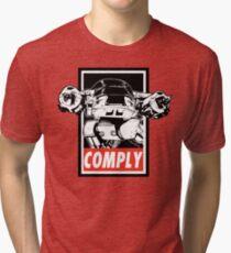 Obey ED-209 Tri-blend T-Shirt