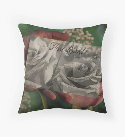 Thinking of You ~ Across the Miles ~ I love you Throw Pillow