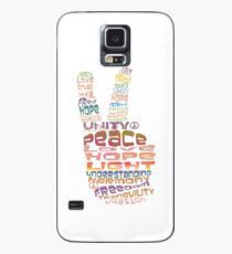 Peace sign iPhone and iPod case Case/Skin for Samsung Galaxy