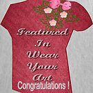 Featured banner Wear Your Art by aldona