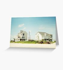 Beach House Greeting Card