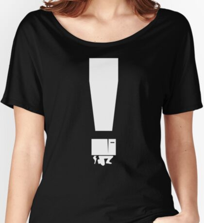 EXCLAMATION BOX! Women's Relaxed Fit T-Shirt