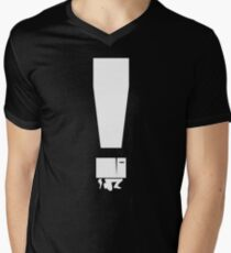 EXCLAMATION BOX! Men's V-Neck T-Shirt