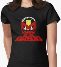 Dawn of the Dredd Women's Fitted T-Shirt