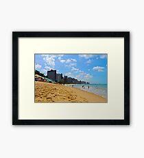Beach in Brazil Framed Print