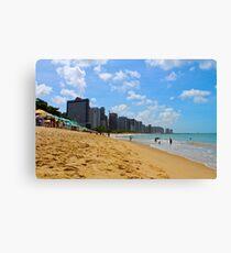 Beach in Brazil Canvas Print