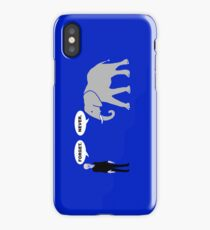 Silence vs. Elephant iPhone Case/Skin