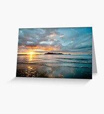 South Mission Beach Sunrise Greeting Card