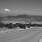 Road To the Anza Borrego Desert by Heather Friedman