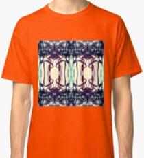 Colorful Abstract Smoke Pattern Classic T-Shirt