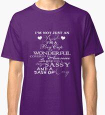 Not Just An Aunt- Purple Classic T-Shirt