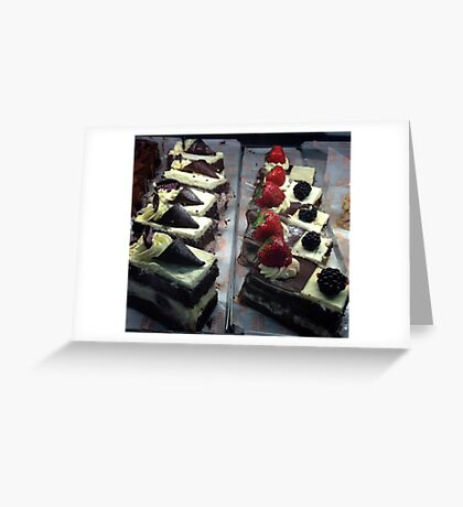 Cakes Greeting Card