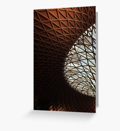 Kings cross architecture Greeting Card