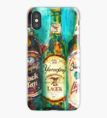 Yuengling Beer - Black and White, Lager and Light Beer iPhone Case/Skin
