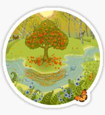 Magic forest Sticker