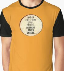 Miss-A-Go: Under Fire From Space Patrol Graphic T-Shirt