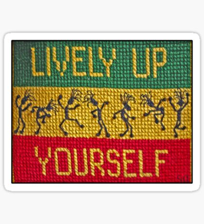 lively up yourself! Sticker