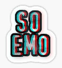 So Emo Sticker