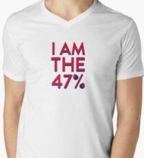 I Am The 47% Men's V-Neck T-Shirt