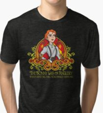 The Bonny Lass of Anglesey Tri-blend T-Shirt