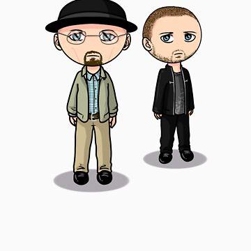 Jesse & Walt by wittytees