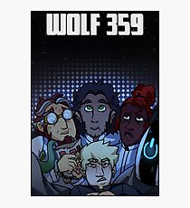Wolf 359  Photographic Print
