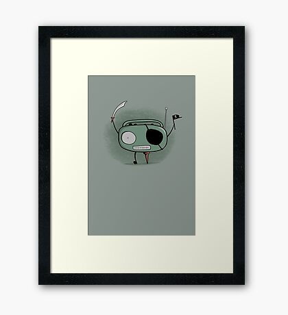 Pirate Radio Framed Print
